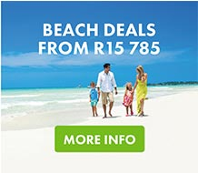 Beach Deals from R15,785