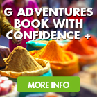 G Adventures Book with Confidence