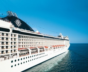 2 Nights at Sea with MSC